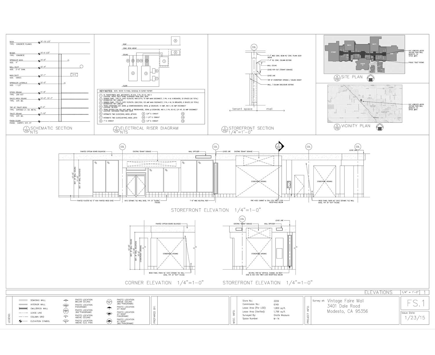 lease outline drawing